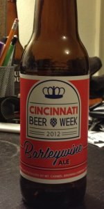 Cincinnati Beer Week 2012 Barleywine Ale