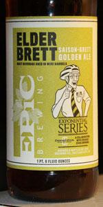 Elder Brett: Saison-Brett Golden Ale