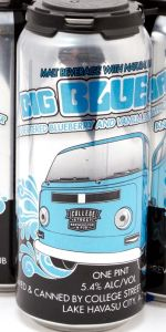 Big Blue Van