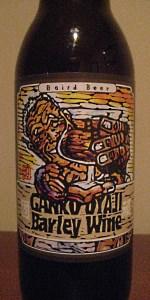 Ganko Oyaji Barley Wine 2012