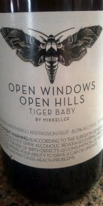 Tiger Baby: Open Windows Open Hills