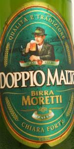 Birra Moretti Doppio Malto Chiara Forte