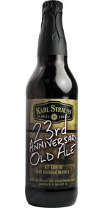 23rd Anniversary Bourbon Barrel Aged Old Ale