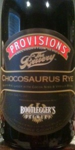 Collaboration Series: Chocosaurus Rye
