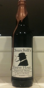 Churchill's Finest Hour 2012
