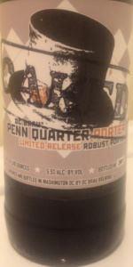 Penn Quarter Porter - Whiskey Oak Barrel Aged