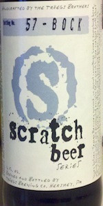 Scratch Beer 57 - 2012 (Weizenbock)