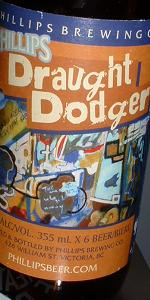 Draught Dodger Maple Cream Ale