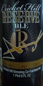 Reserve Ale Russian Imperial Stout