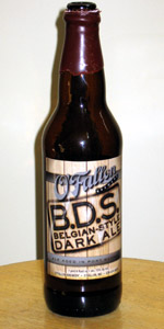 B.D.S. Belgian-Style Dark Ale