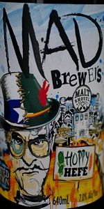 Mad Brewers Hoppy Hefe