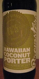 Hawaiian Coconut Porter