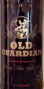 Old Guardian Barley Wine Style Ale (2012)