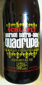 Schlafly Bourbon Barrel Aged Quadrupel