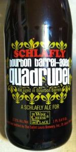 Bourbon Barrel Aged Quadrupel