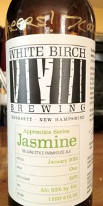 White Birch Apprentice Series Jasmine