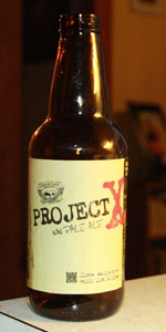 Project X Nw Pale Ale