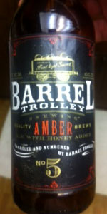 Barrel Trolley Amber Ale