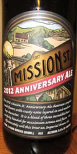 Mission St. Anniversary Ale 2012