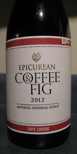 Epicurean Fig & Coffee