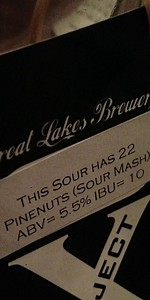 Great Lakes This Sour Has 22 Pinenuts