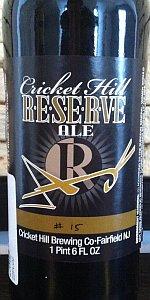 Reserve Ale - #15 - Oud Bruin Bourbon Barrel Aged Sour Porter