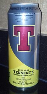 Tennent's Original Export Lager