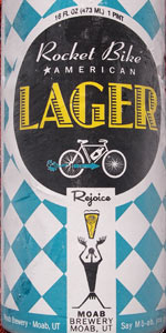 Rocket Bike American Lager