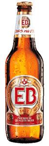 E B Natural Premium Quality Beer