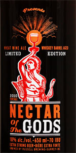 Russell Nectar Of The Gods - Whiskey Barrel Aged