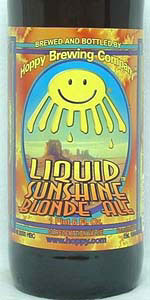 Liquid Sunshine Blonde Ale