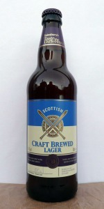 Scottish Craft Brewed Lager (Sainsbury's Taste The Difference)