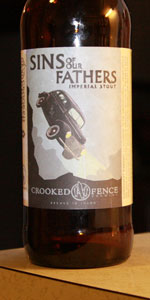 Sins Of Our Fathers Imperial Stout
