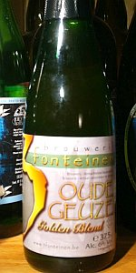 Drie Fonteinen Oude Geuze Golden Blend