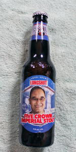 LongShot Five Crown Imperial Stout