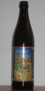 Private Rye Bière De Garde