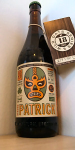 Wild Oats Series No. 18 - Strong Patrick Irish Red Ale