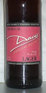 Dave's Premium Lager