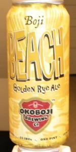 Boji Beach Golden Rye Ale