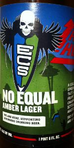 Blueline Series: No Equal Amber Lager