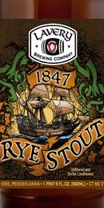 1847 Rye Stout