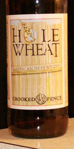 Hole Wheat American Hefe
