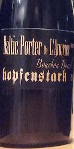 Baltic Porter De L'Ancrier (Bourbon Barrel)
