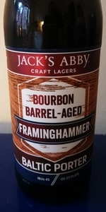 Barrel-Aged Framinghammer - Bourbon