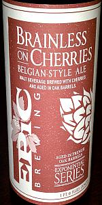 Brainless On Cherries Belgian-Style Ale (Batch 5+)