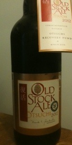 Otsuchi Old Stock Ale  2012