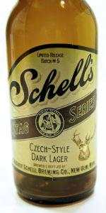 Schell's Stag Series: Czech-Style Dark Lager
