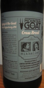 Mountain Goat Cross Breed Gypsy And The Goat Black Pepperberry IPA