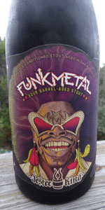 Funk Metal Sour Barrel-Aged Stout