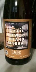 Island Reserve: Lager (Oak Aged Bohemian-Vienna Style Lager)